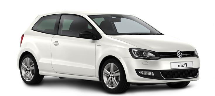 Auto raamfolie voor de Volkswagen Polo 3-deurs.