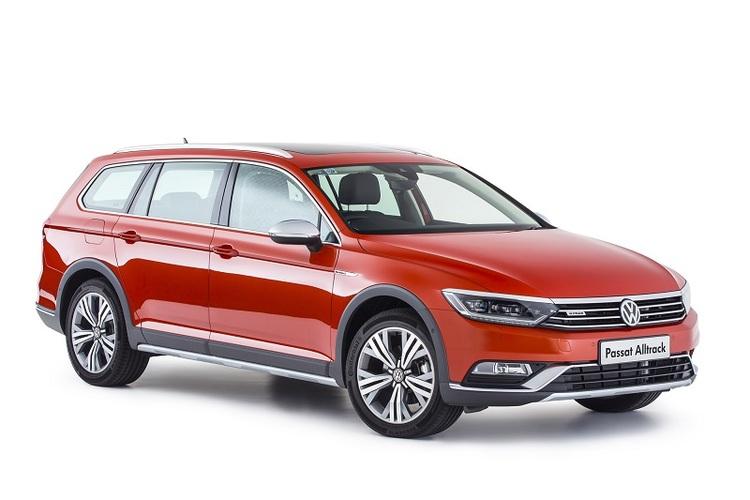 Auto raamfolie voor de Volkswagen Passat Alltrack.