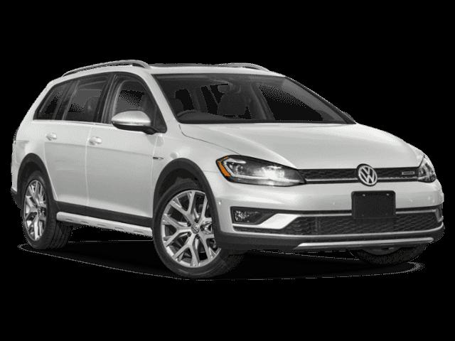 Auto raamfolie voor de Volkswagen Golf Alltrack.