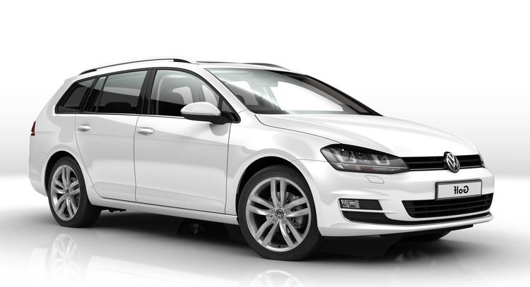Auto raamfolie voor de Volkswagen Golf Variant.