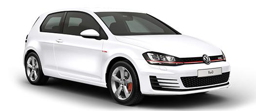 Auto raamfolie voor de Volkswagen Golf 3-d.