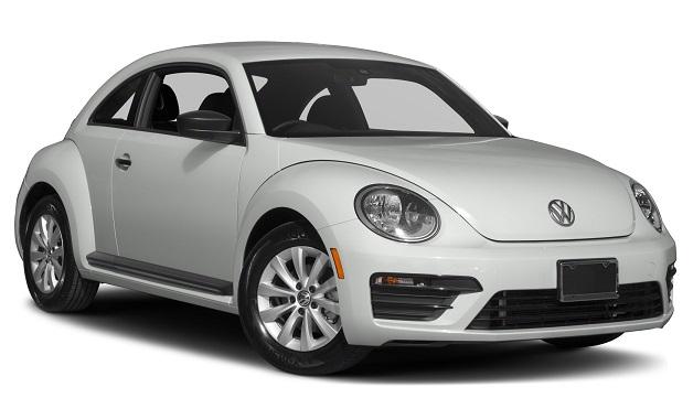 Auto raamfolie voor de Volkswagen Beetle.