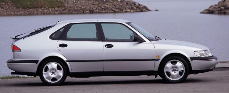 Auto raamfolie voor de SAAB 900.
