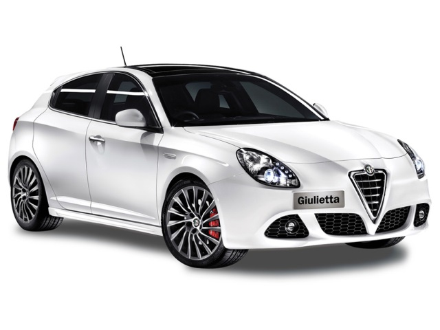 Auto raamfolie voor de Alfa Romeo Giuiletta.