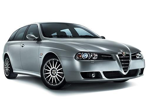 Auto raamfolie voor de Alfa Romeo 156 Sportswagon.