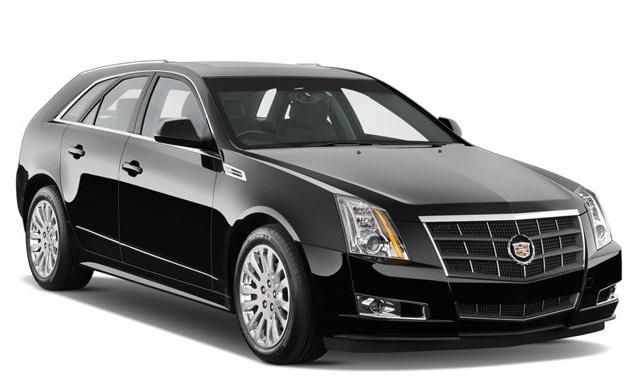 Auto raamfolie voor de Cadillac CTS.