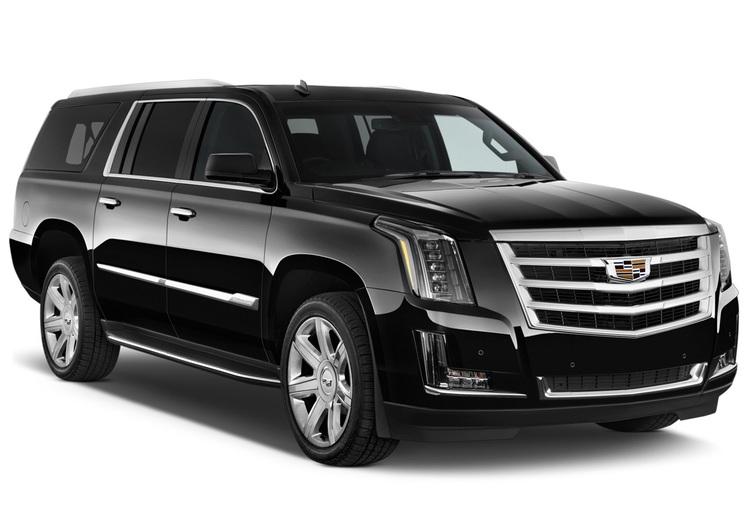 Auto raamfolie voor de Cadillac Escalade.