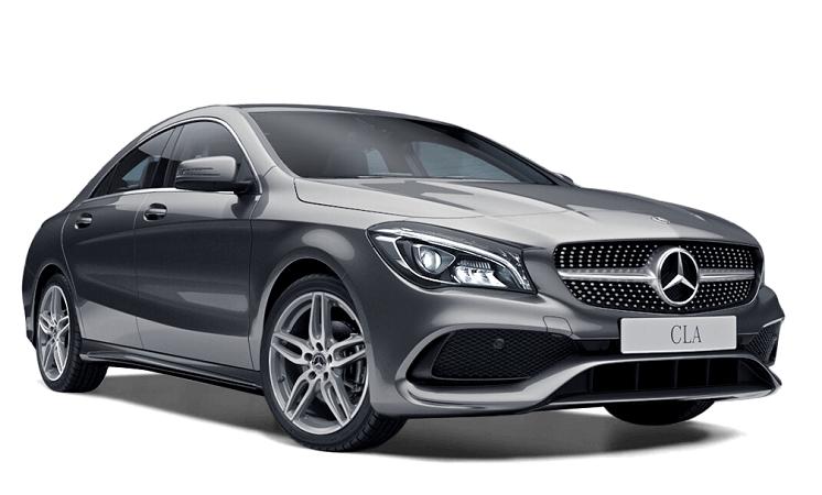Auto raamfolie voor de Mercedes CLA coupé.