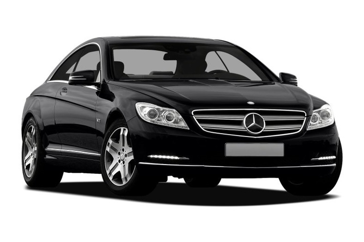 Auto raamfolie voor de Mercedes CL.
