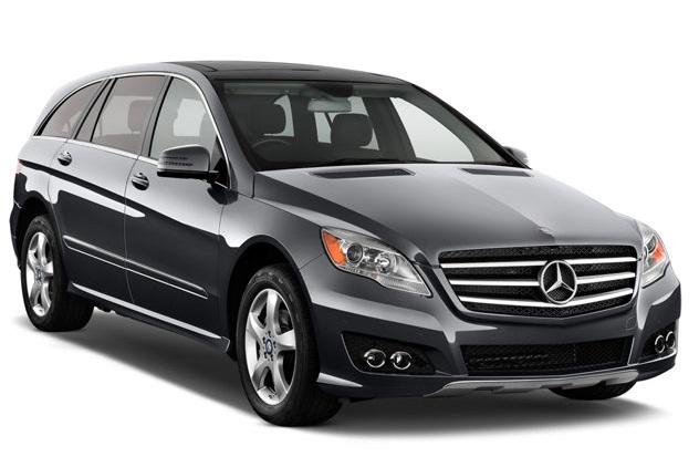 Auto raamfolie voor de Mercedes R-Klasse.
