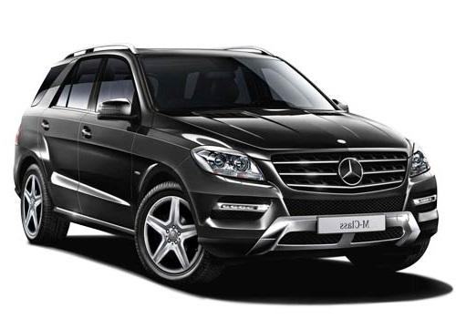 Auto raamfolie voor de Mercedes M-Klasse.