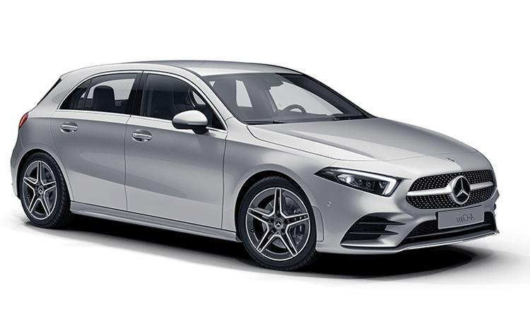 Auto raamfolie voor de Mercedes A-Klass.