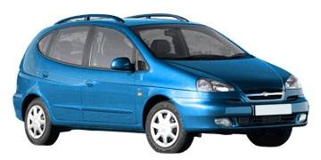 Auto raamfolie voor de Chevrolet Tacuma.
