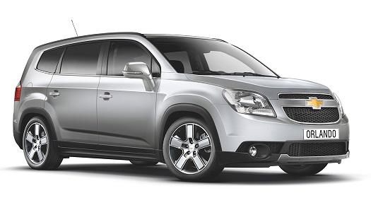 Auto raamfolie voor de Chevrolet Orlando