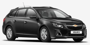 Auto raamfolie voor de Chevrolet Cruze combi