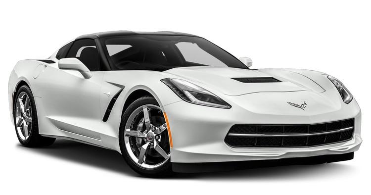 Auto raamfolie voor de Chevrolet Corvette