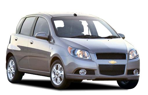 Auto raamfolie voor de Chevrolet Aveo
