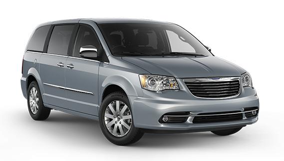 Auto raamfolie voor de Chrysler Grand Voyager
