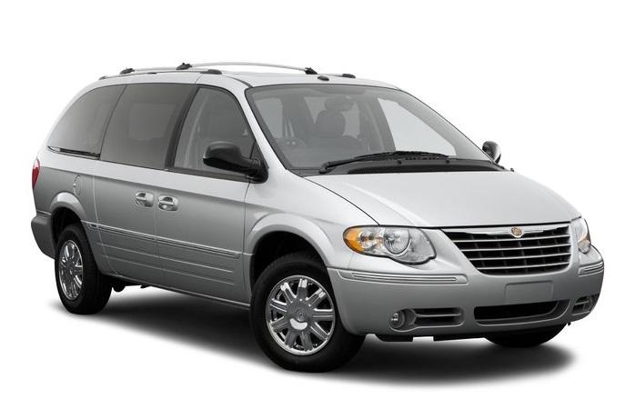 Auto raamfolie voor de Chrysler Voyager
