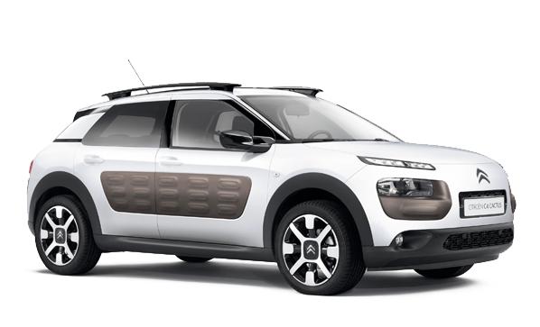 Auto raamfolie voor de Citroën C4 Cactus.