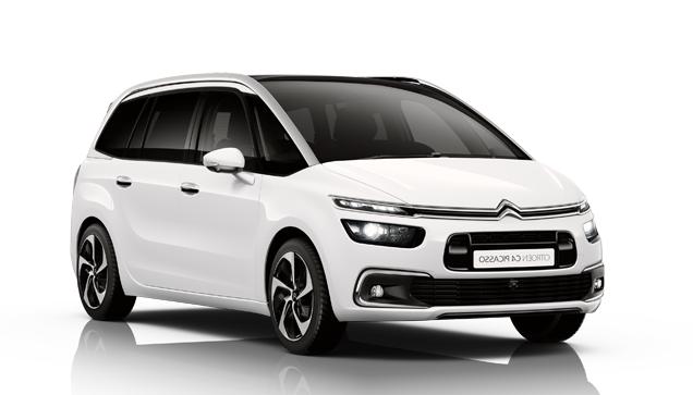 Auto raamfolie voor de Citroën C4 Grand Picasso.