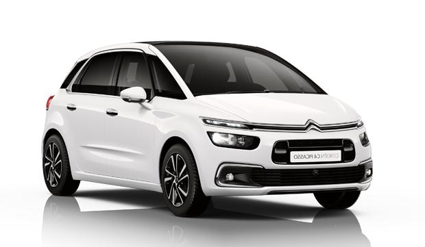Auto raamfolie voor de Citroën C4 Picasso.