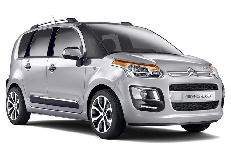 Auto raamfolie voor de Citroën C3 Picasso.