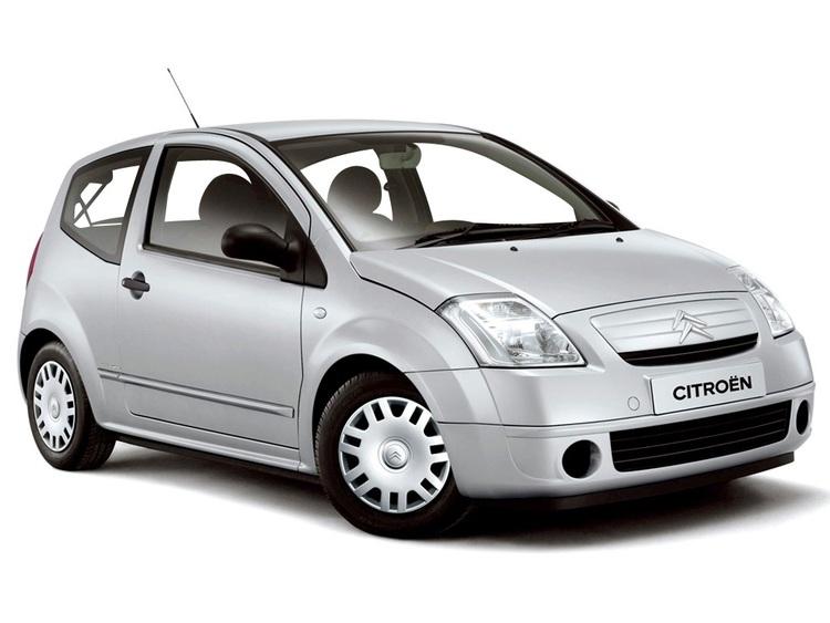 Auto raamfolie voor de Citroën C2 3-deurs.