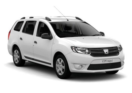 Auto raamfolie voor de Dacia Logan.