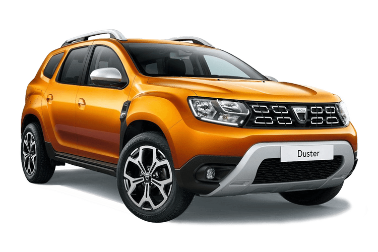 Auto raamfolie voor de Dacia Duster.