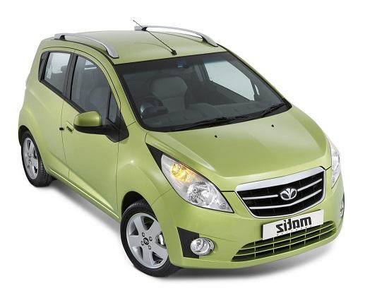 Auto raamfolie voor de Daewoo Matiz.