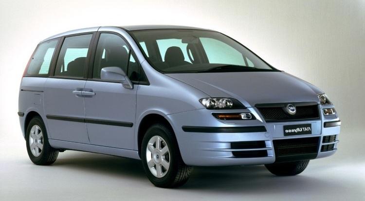 Auto raamfolie voor de Fiat Ulysse.
