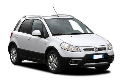 Auto raamfolie voor de Fiat Sedici.
