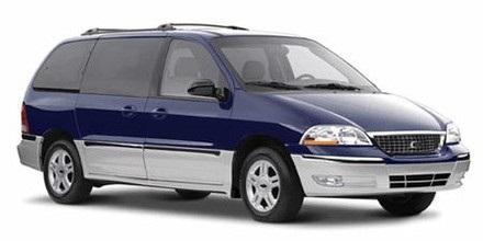 Auto raamfolie voor de Ford Windstar