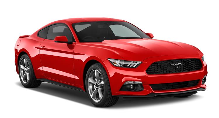 Auto raamfolie voor de Ford Mustang