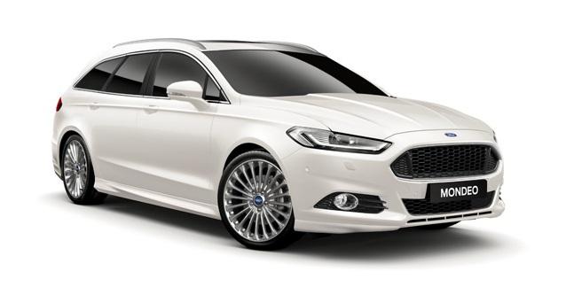 Auto raamfolie voor de Ford Mondeo combi