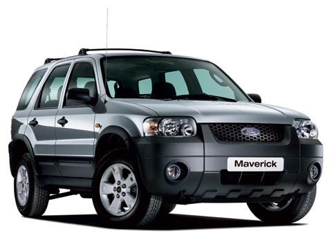 Auto raamfolie voor de Ford Maverick