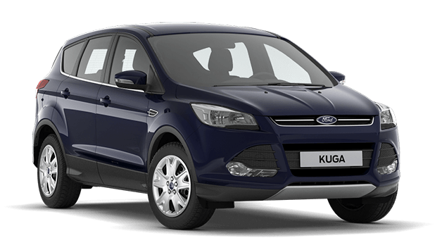 Auto raamfolie voor de Ford Kuga