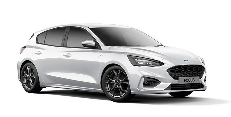 Auto raamfolie voor de Ford Focus 5-deurs