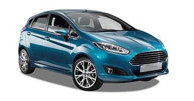Auto raamfolie voor de Ford Fiesta 5-d