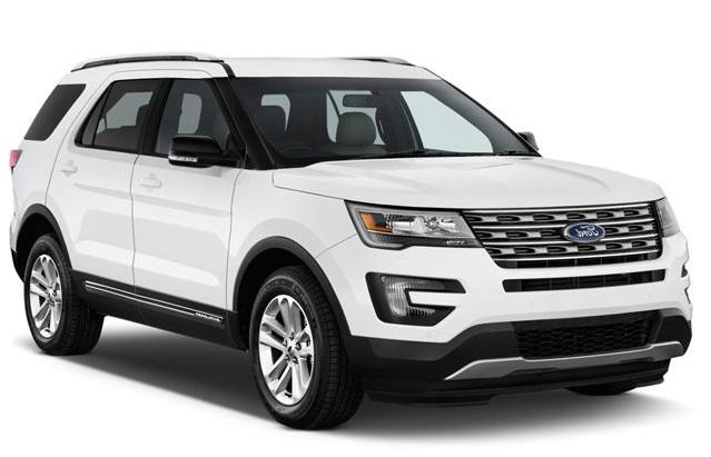 Auto raamfolie voor de Ford Explorer