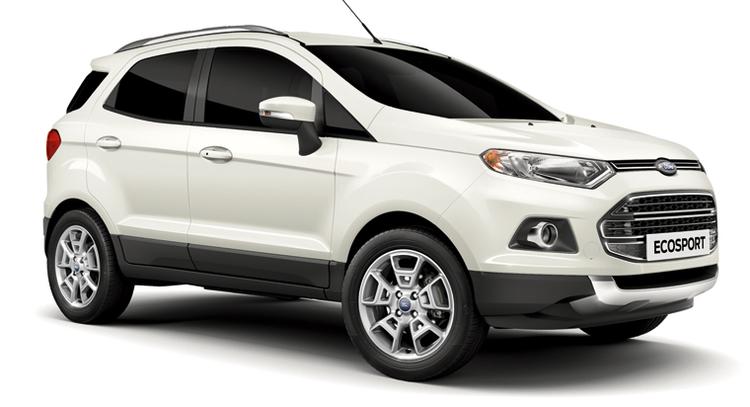 Auto raamfolie voor de Ford Ecosport