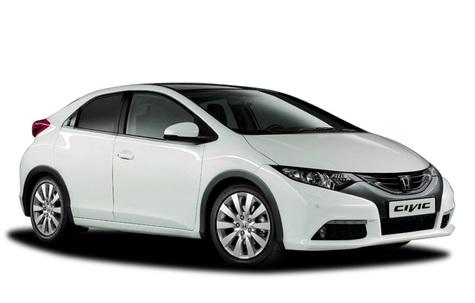 Auto raamfolie voor de Honda Civic 3-deurs