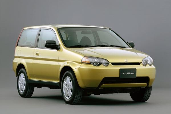 Auto raamfolie voor de Honda HRV 3-d