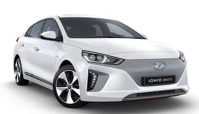 Auto raamfolie voor de Hyundai IONIQ