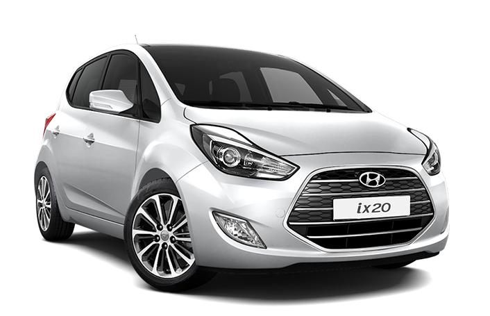 Auto raamfolie voor de Hyundai ix20