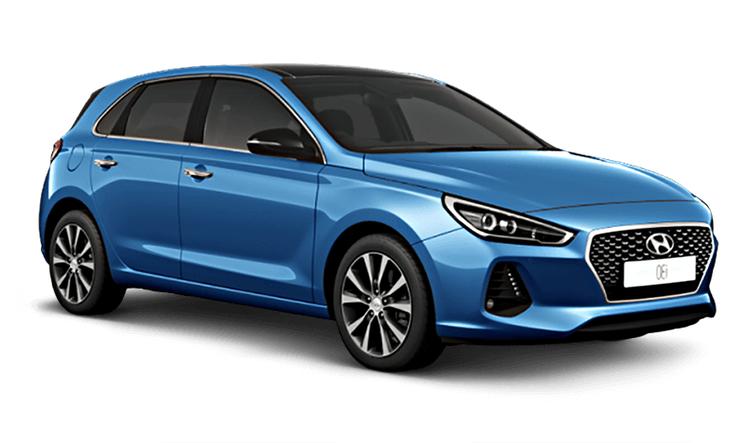 Auto raamfolie voor de Hyundai i30 5-deurs