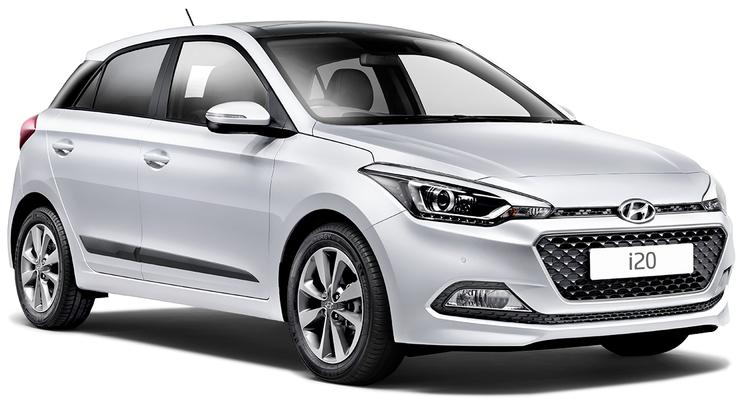 Auto raamfolie voor de Hyundai i20 5-deurs