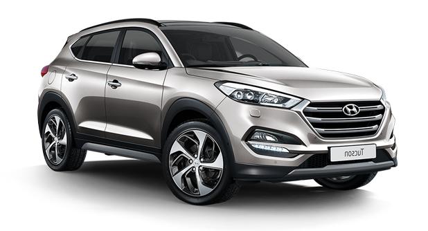Auto raamfolie voor de Hyundai Tuscon