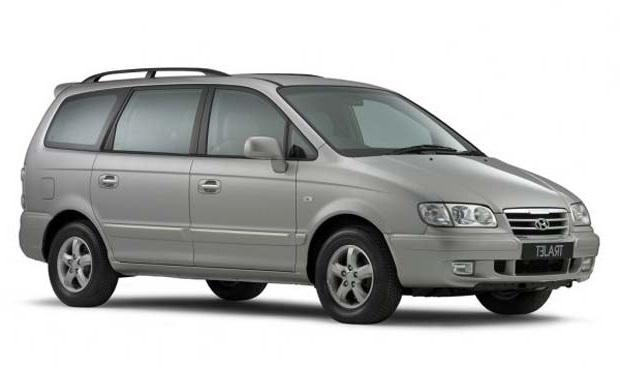 Auto raamfolie voor de Hyundai Trajet